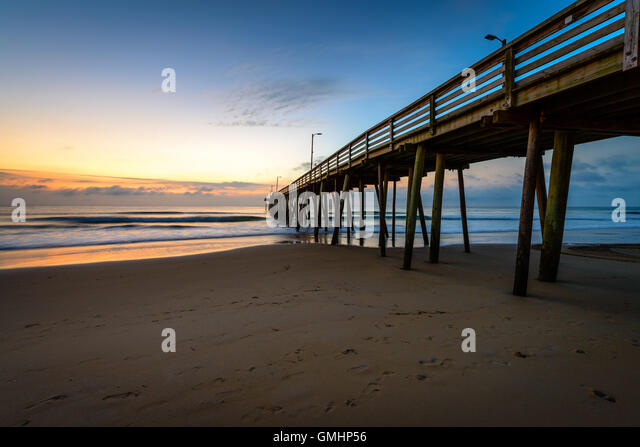 Golden virginia stock photos golden virginia stock for Va beach fishing pier