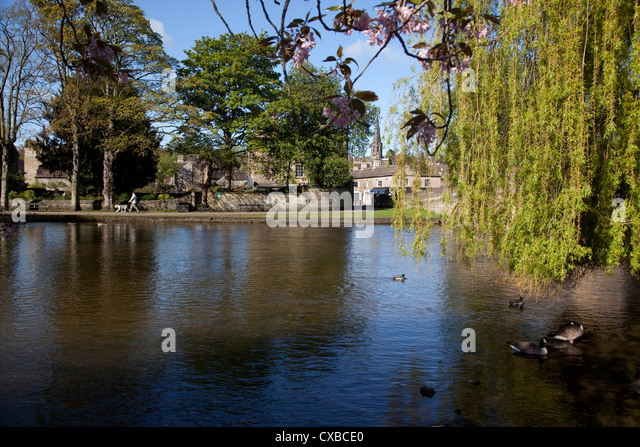 Bakewell United Kingdom  city pictures gallery : River Wye, Bakewell, Derbyshire, England, United Kingdom, Europe ...