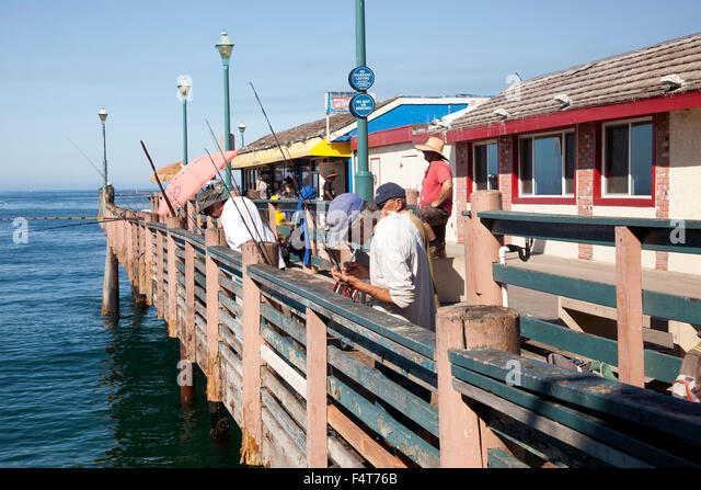 Redondo beach pier stock photos redondo beach pier stock for Redondo beach pier fishing