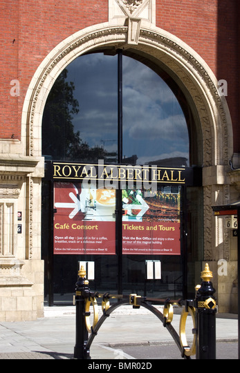 Entrance door royal albert hall stock photos entrance for Door 12 royal albert hall