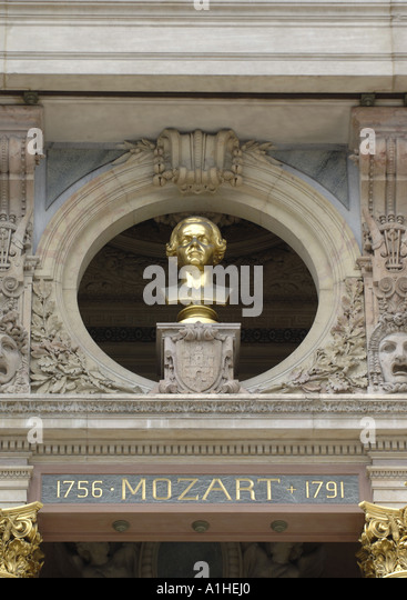 Mozart bust stock photos mozart bust stock images alamy for Amadeus decoration