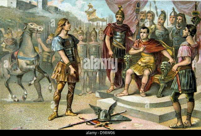 Vercingetorix Caesar Stock Photos & Vercingetorix Caesar ...