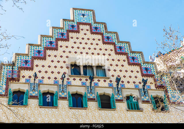 Catalan modernism stock photos catalan modernism stock images alamy - Casa en catalan ...