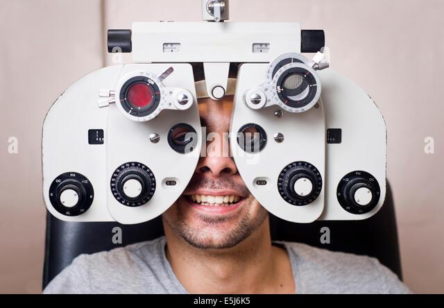 vision test machine