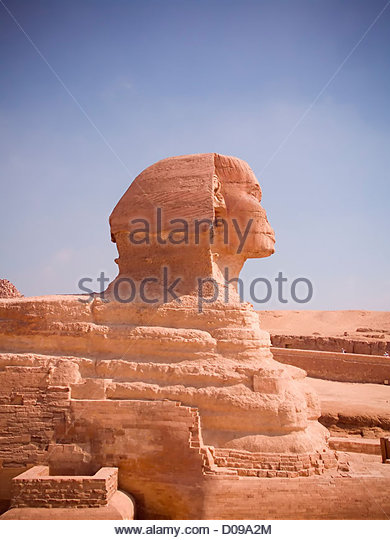 Famous Ancient Egypt Sphinx Head Stock Photos Famous Ancient Great Sphinx  Of Egypt Ancient Architecture Stock