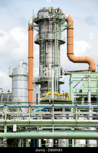 Chemical Piping Systems : Piping system stock photos images
