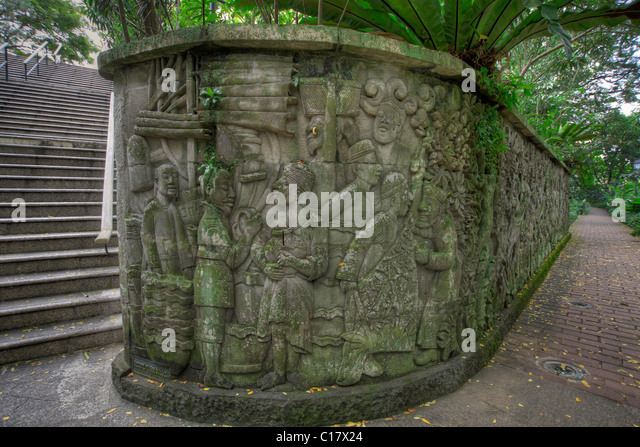 Fort canning singapore stock photos