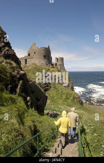 Scenic Castle In Northern Ireland Stock Photos  Castle In Northern  With Inspiring Northern Ireland Ulster Derry County Antrim Coast Dunluce Castle  Visitor With Captivating Homebase Plastic Garden Chairs Also Utopia Garden Furniture In Addition Garden Sheds Lincolnshire And Ski Covent Garden As Well As Large Pebbles For Garden Additionally Monet House And Garden From Alamycom With   Inspiring Castle In Northern Ireland Stock Photos  Castle In Northern  With Captivating Northern Ireland Ulster Derry County Antrim Coast Dunluce Castle  Visitor And Scenic Homebase Plastic Garden Chairs Also Utopia Garden Furniture In Addition Garden Sheds Lincolnshire From Alamycom
