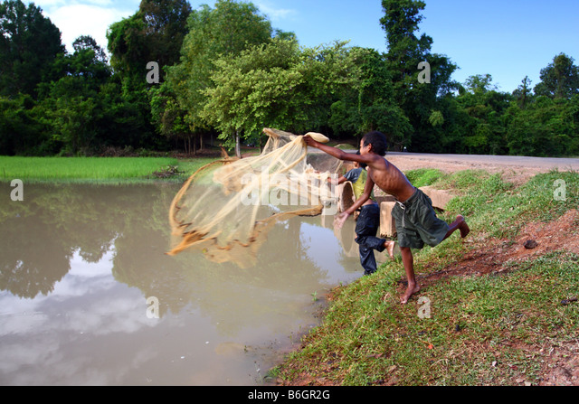Casting nets stock photos casting nets stock images alamy for Kids fishing net