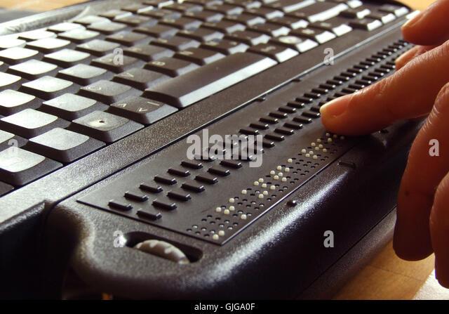 Braille Keyboard Stock Photos Amp Braille Keyboard Stock