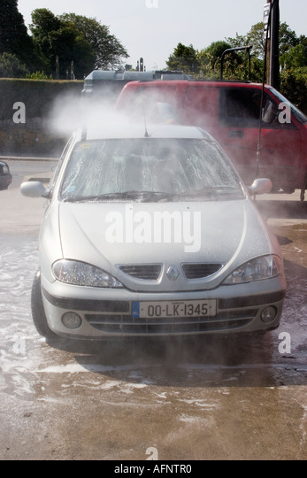 how to use jet wash at petrol station