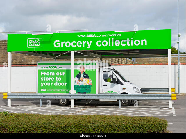 Asda Van Stock Photos Amp Asda Van Stock Images Alamy