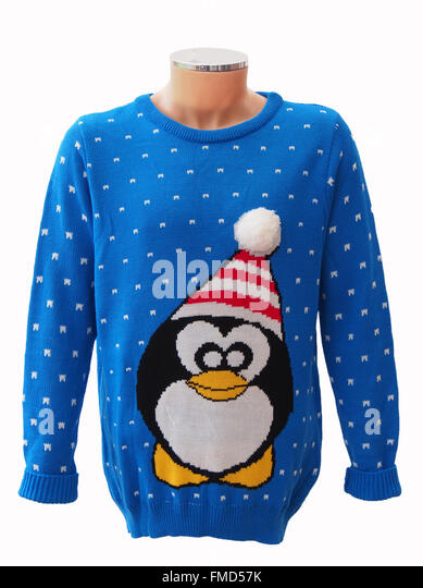 Christmas Penguin Jumper Knitting Pattern : Woolly Penguin Stock Photos & Woolly Penguin Stock Images - Alamy