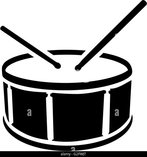 Drums Kit Silhouette S...