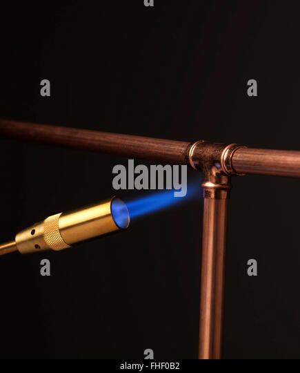 Copper Pipe Being Used For Natural Gas