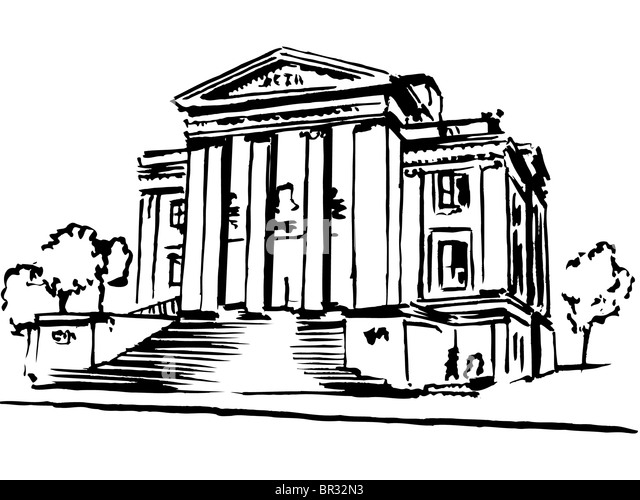 Images Of Bank Building Drawing