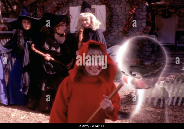 casper and wendy costume. casper meets wendy year 1998 director sean mcnamara - stock image and costume