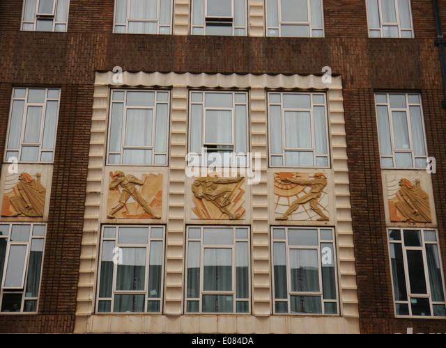 Art deco detail stock photos art deco detail stock for Art deco architectural details