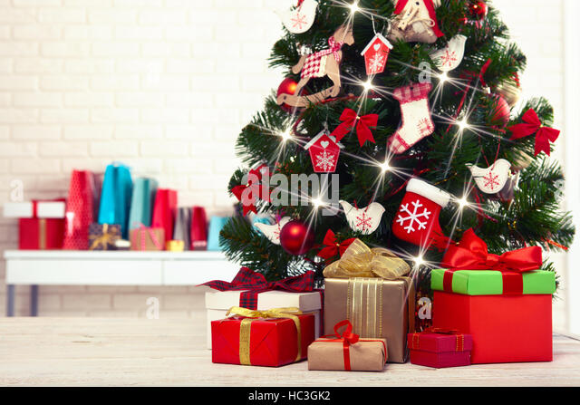 christmas brick room white brick stock photos room white brick stock images alamy