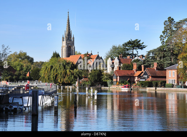 Marlow-on-Thames United Kingdom  city photos gallery : Marlow Thames Stock Photos & Marlow Thames Stock Images Alamy