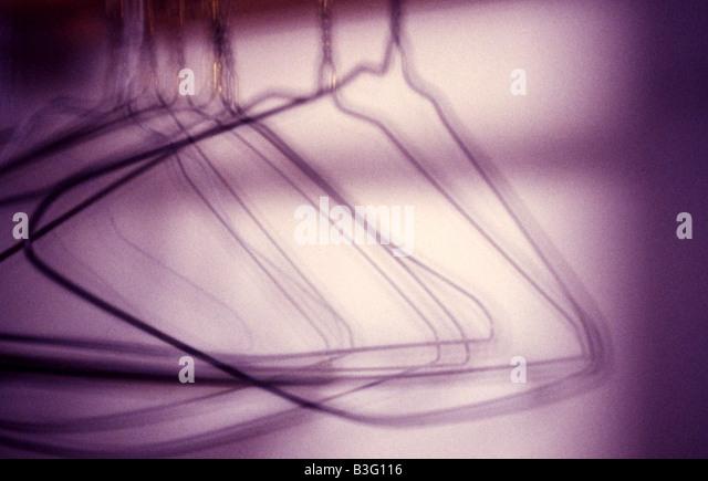 Empty Hangers In An Closet