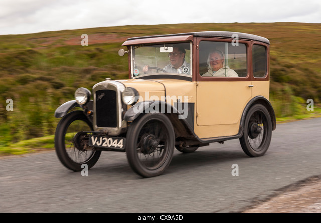 Classic Cars Driving Countryside Stock Photos Classic Cars