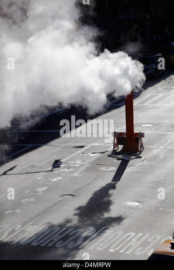 Steam Leak From Pipe : Leak pipe stock photos images alamy