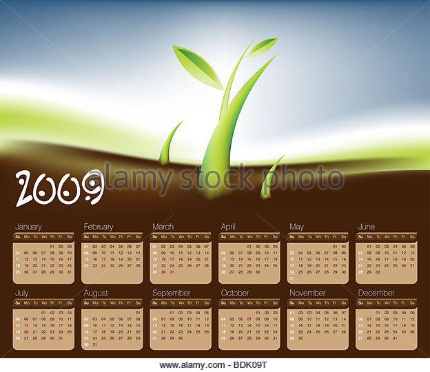 Calendar 2009 Seasons Stock Photos & Calendar 2009 Seasons Stock ...