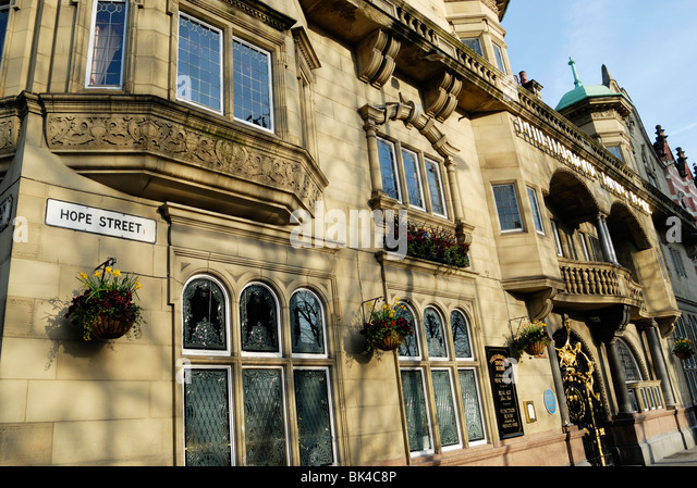 Philharmonic Dining Rooms in Hope Street  Liverpool    Stock Image. Liverpool Philharmonic Pub Architecture Stock Photos   Liverpool