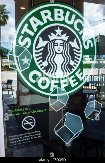 Sign smoke free stock photos sign smoke free stock images alamy Starbucks palm beach gardens