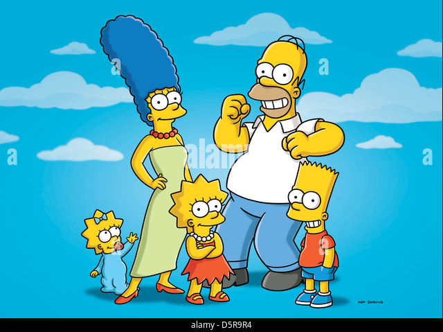 Maggie Simpson Marge Simpson Lisa Stock Photos & Maggie Simpson ...