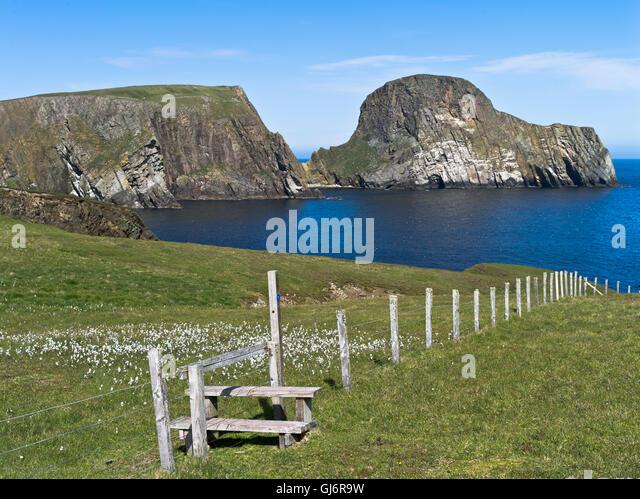 Isle Shetland National Trust Scotland Landscape Stock Photos ...