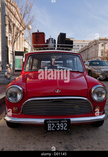 Old Mini Car Red Stock Photos Amp Old Mini Car Red Stock Images Alamy