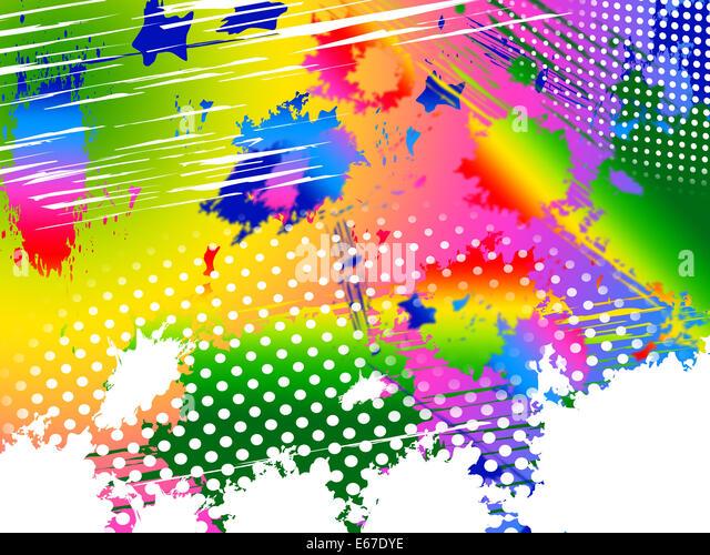 What Paint Colors Mean splash color meaning paint colors stock photos & splash color