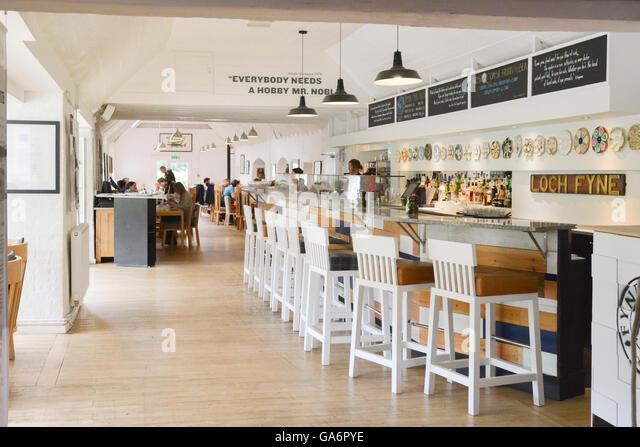 Loch Fyne Restaurant Stock Photos