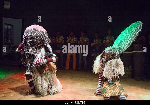 Mehndi Traditional Dance In Zimbabwe : Makishi stock photos images alamy