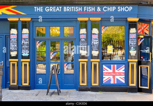 Fish and chip shops stock photos fish and chip shops for The fish shop
