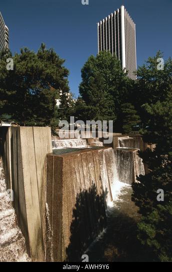 Portland oregon fountain stock photos portland oregon for Garden fountains portland oregon