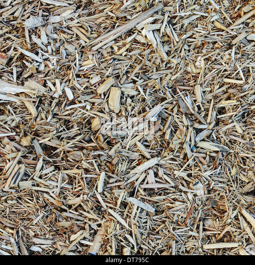 Wood Chip Uses ~ Bark mulch stock photos images alamy