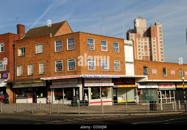 Car Park Near Clumber Street Nottingham