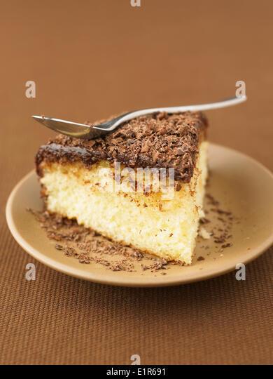 Chocolate And Rum Cake Stock Image