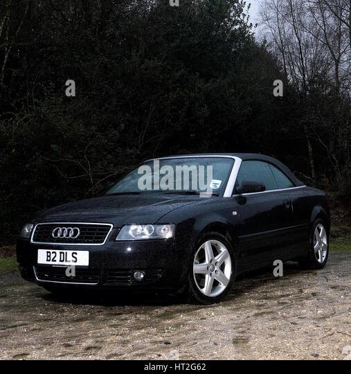 Audi A4 Convertible Stock Photos & Audi A4 Convertible