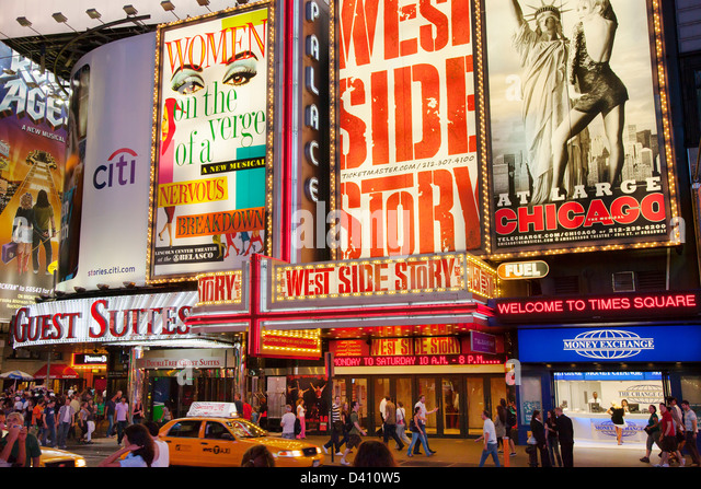 West 42nd Street Signs Stock Photos & West 42nd Street ...