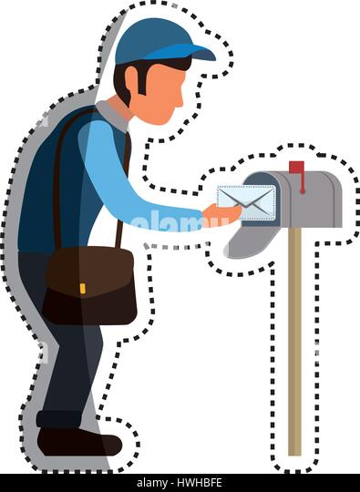 Cartoon Mailbox Stock Photos & Cartoon Mailbox Stock ...