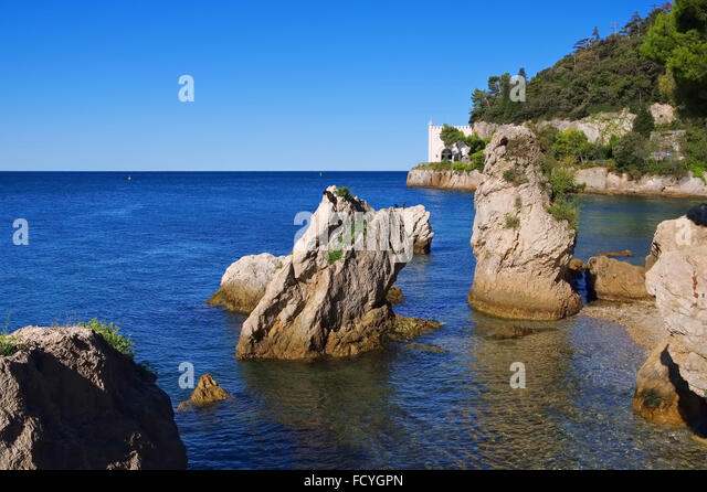 Miramare trieste stock photos miramare trieste stock for Miramare beach