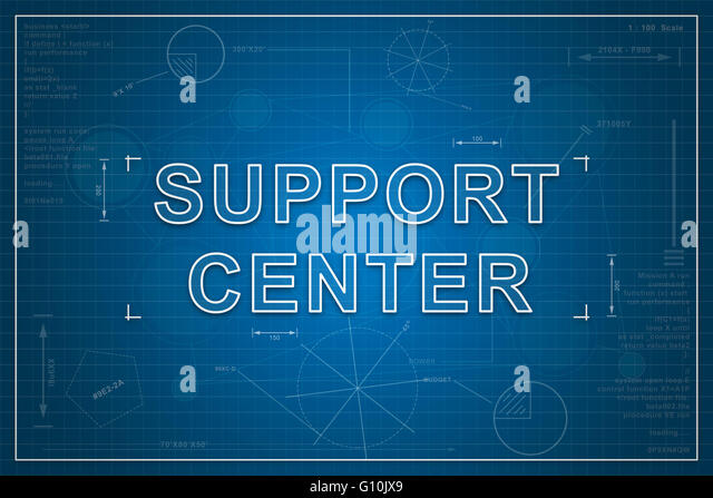 Business concept connect connection contact conversation helpdesk support center on paper blueprint background business concept stock image malvernweather Gallery