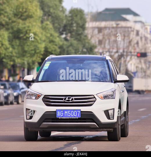 Hyundai Logo Stock Photos Amp Hyundai Logo Stock Images Alamy