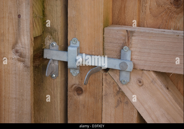 Attractive Gate Latch   Stock Image