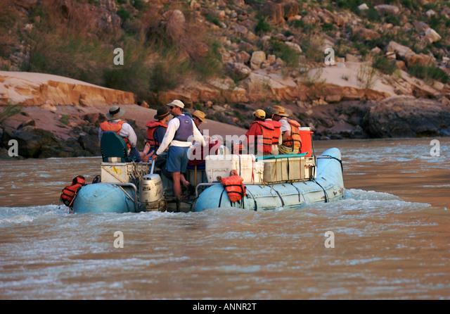 Motor Rafting Colorado River In Stock Photos Motor