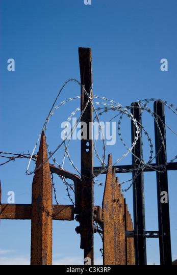 Fence spike stock photos images alamy